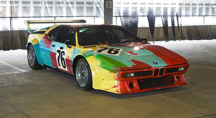 1979 Andy Warhol BMW M1 Art Car to Be Showcased at ARTcetera 2013