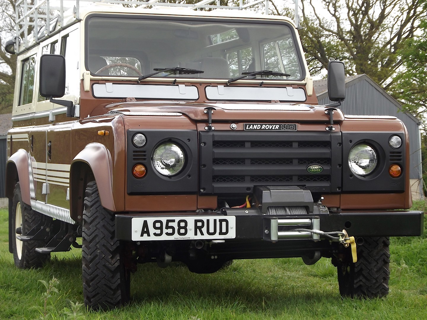 1983 Land Rover 110 County Station Wagon Up For Auction As the ...