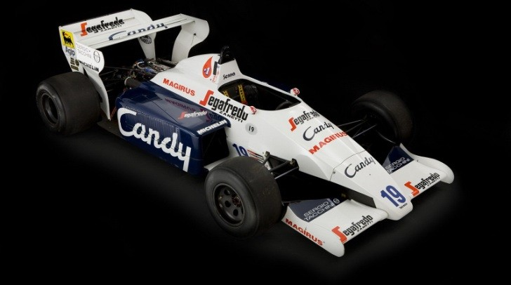 1984 Formula F1 Race Car Used by Ayrton Senna for Sale