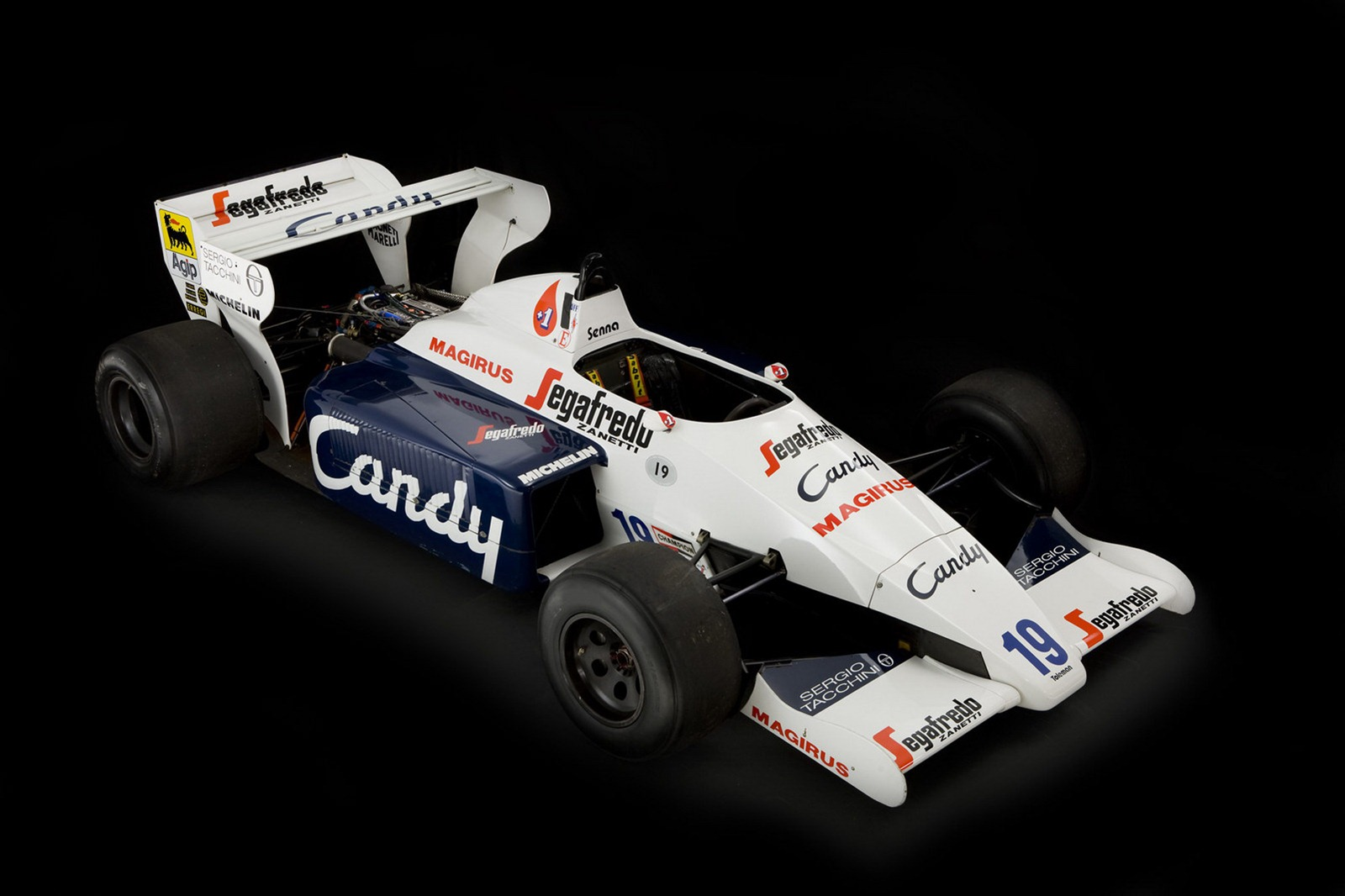 1984 Formula F1 Race Car Used by Ayrton Senna for Sale - autoevolution