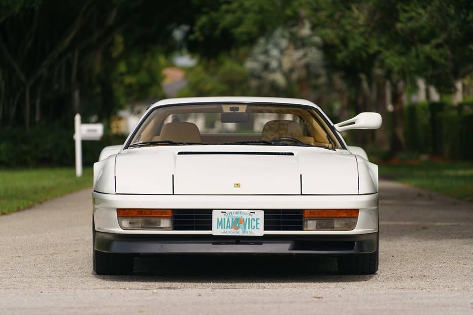 1986 Ferrari Testarossa Miami Vice Hero Car Goes to Auction ...