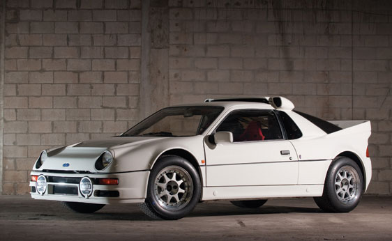 1986 Ford RS200 Evolution to Be Auctioned - autoevolution