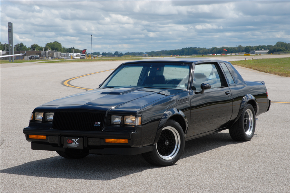 1987 Buick GNX #003 Is A Time Capsule Offered At No Reserve ...