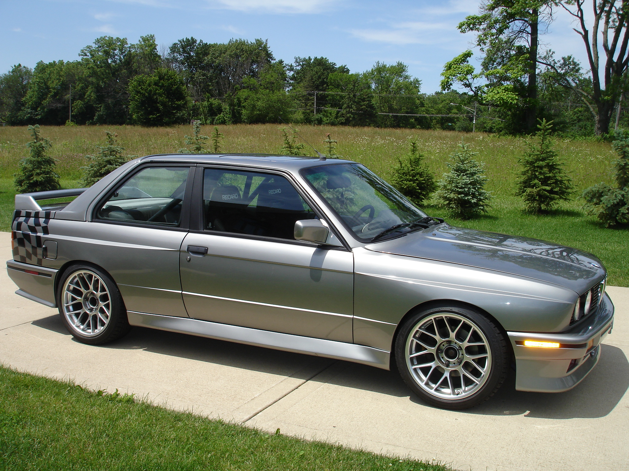 1988 Bmw E30 M3 With Inline 6 Cylinder S52 Engine Up For Grabs In