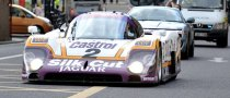 1988 Jaguar XJR-9LM Took to Bradford Streets