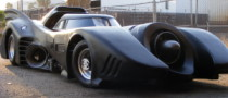 1989 Batmobile Replica to Go Under Hammer in Las Vegas