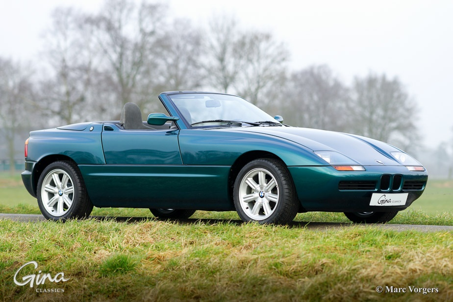 Bmw Z1 With Only 888 Km On The Clock Is Up For Grabs