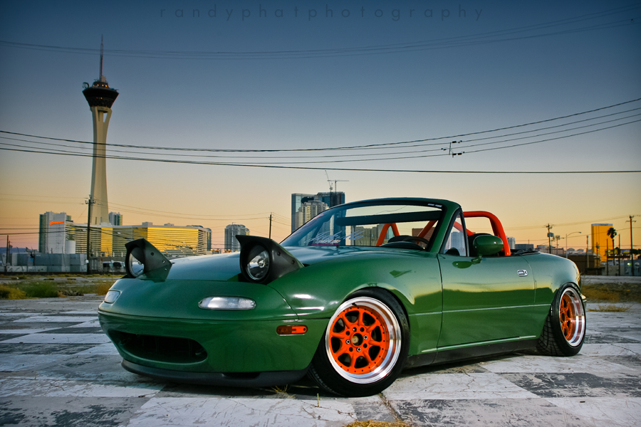 1990 Mazda Miata Gets Ninja Turtle Treatment Autoevolution