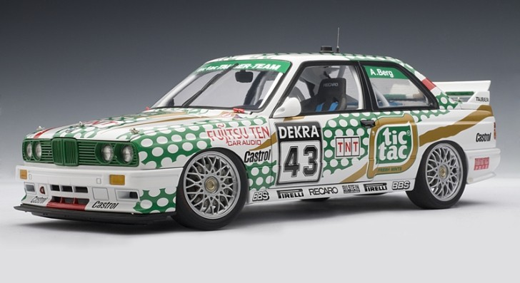 "1991 BMW M3 DTM ""Tic Tac"" Diecast Brings Back Memories [Photo Gallery]"
