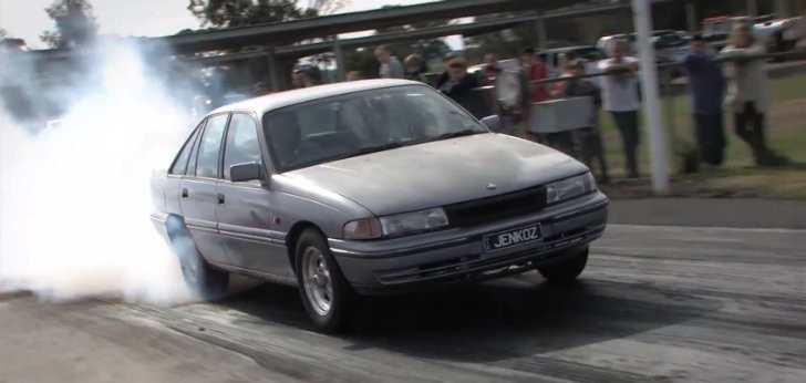 1991 Holden Commodore Makes Mincemeat Of Mercedes Benz A45