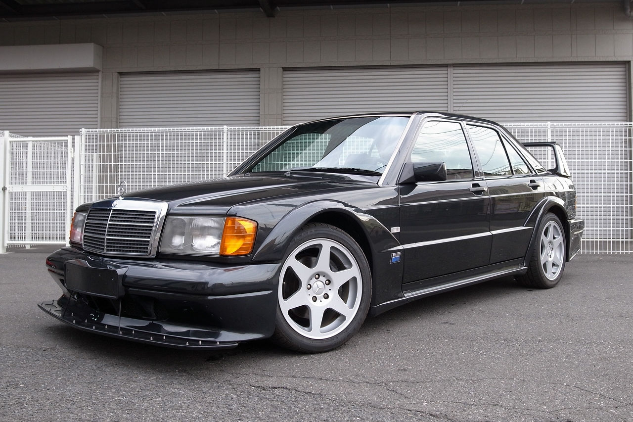 Rare 1991 mercedes benz 190 series 2 5 16v evolution ii up for 1991 mercedes benz