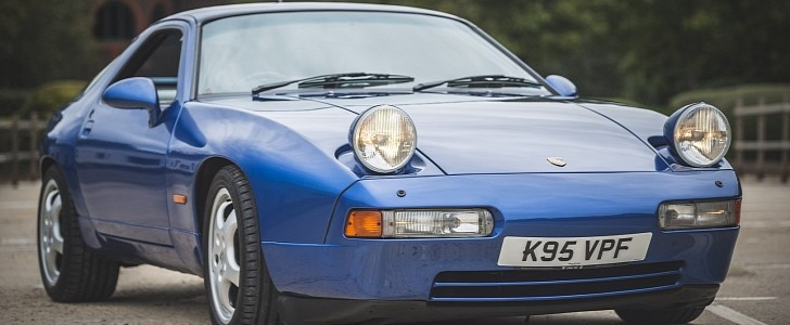 photo of 1992 Porsche 928 GTS in Cobalt Blue Is the Simple Color of Sports Luxury image