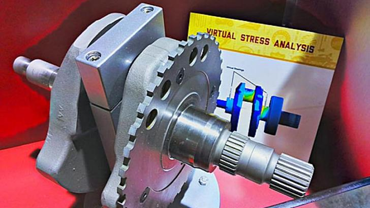 1st Picture of Indian's New Crankshaft Starts Passionate Rumors