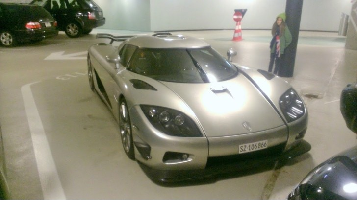 $2 Million Koenigsegg Trevita Abandoned in Swiss Parking Garage?