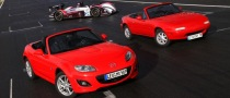 20 Years of Mazda MX-5 Celebrated at Le Mans