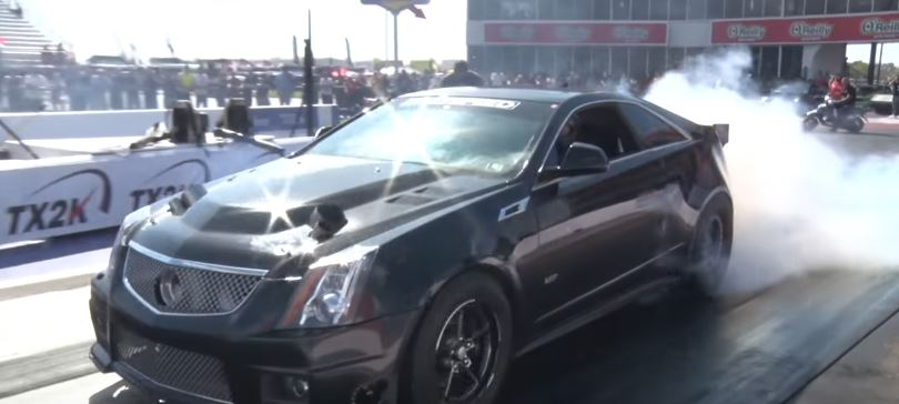 2,000 HP Cadillac CTS-V Is the Fastest In the World, Aims for 6s 1/4