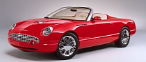 2001 Ford Thunderbird Sports Roadster Concept Car to Be Auctioned for Charity