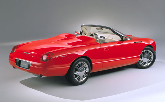 2001 Ford Thunderbird Sports Roadster Concept Car To Be