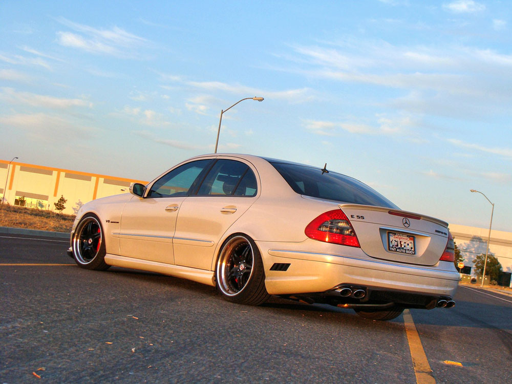 2003 mercedes benz e55 amg on hres 547 autoevolution. Black Bedroom Furniture Sets. Home Design Ideas