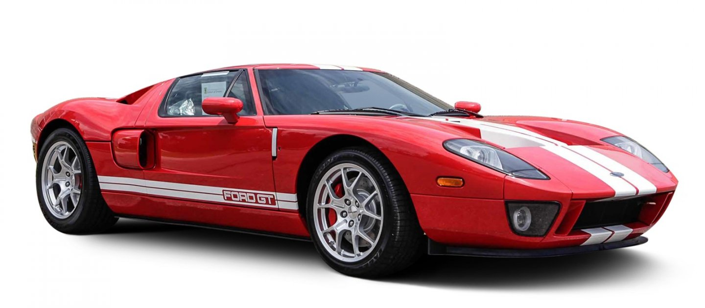 Ford Gt Supercar With Miles On The Odometer Offered For