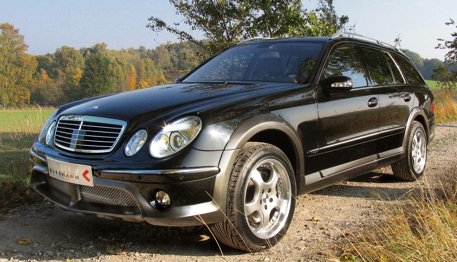 2005 kleemann e class is the only mercedes allroad estate. Black Bedroom Furniture Sets. Home Design Ideas