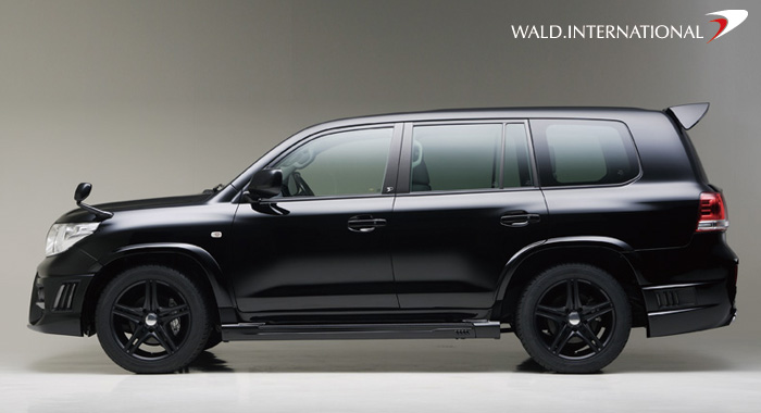 2008 Toyota Land Cruiser Got Pimped Black Bison Edition