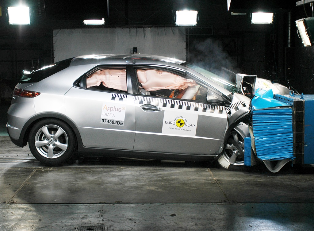 2009 Honda Civic Tested At Euro Ncap
