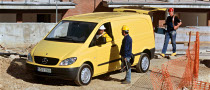 2009 Mercedes Vito Gets 5-Star ANCAP Rating
