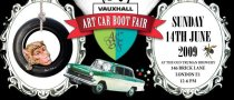 2009 Vauxhall Art Car Boot Fair