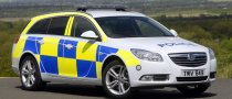 2009 Vauxhall Insignia Joins the Police