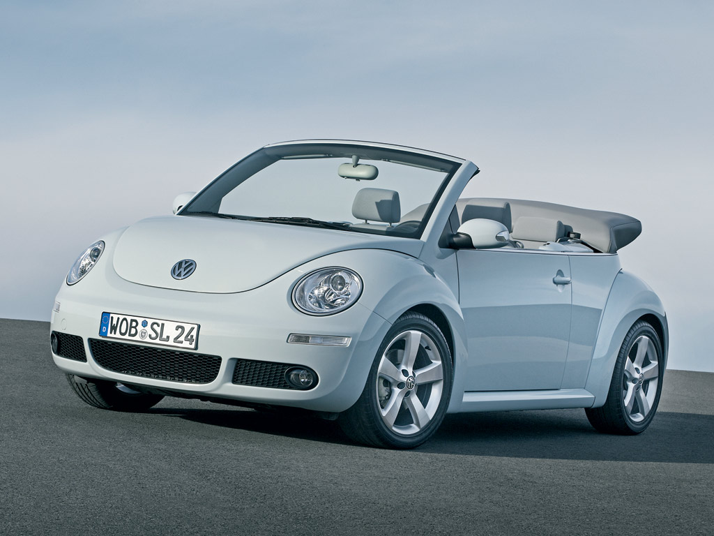 2009 volkswagen beetle convertible blush announced autoevolution. Black Bedroom Furniture Sets. Home Design Ideas