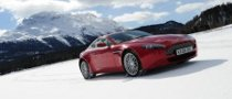 2010 Aston Martin ON ICE Winter Driving Course Kicks-Off
