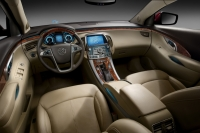 Interior of the new Buick model