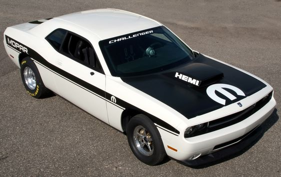 2010 Dodge Challenger Drag Pak Program Released Hemi Inside