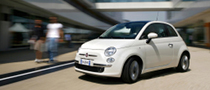 2010 Fiat 500 Gets 900cc Two-Cylinder Turbocharged Engine