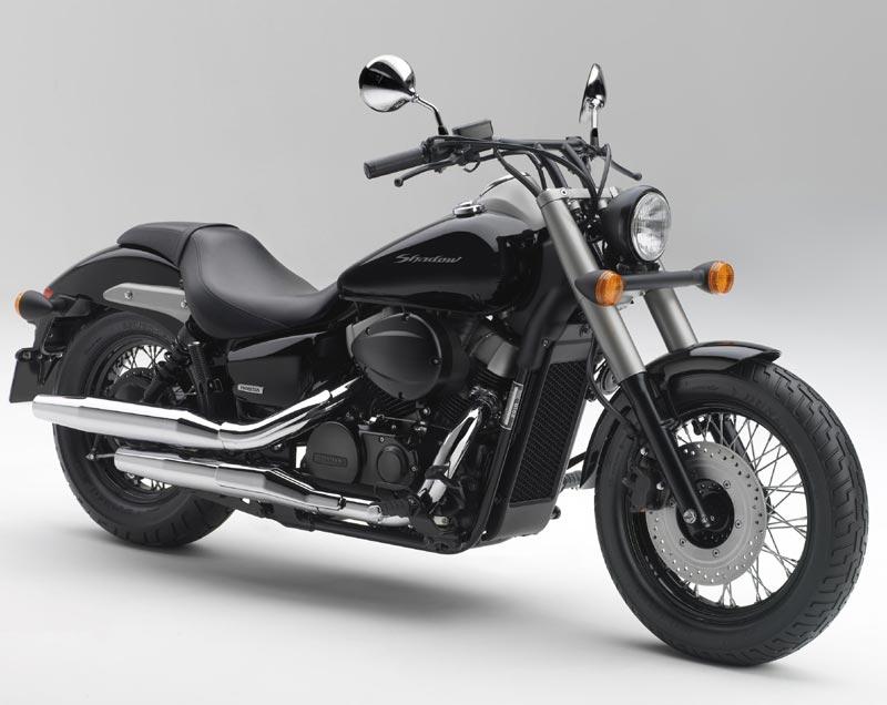 2010 Honda Shadow Black Spirit Revealed Autoevolution