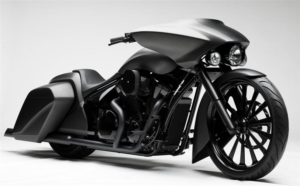 2010 Honda Stateline Slammer Bagger Concept Autoevolution