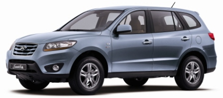 2010 Hyundai Santa Fe - autoevolution