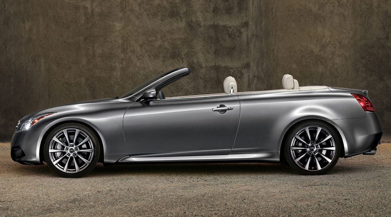 2010 Infiniti G Convertible Us Pricing Released