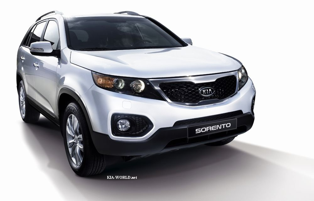 2010 kia sorento official photos autoevolution. Black Bedroom Furniture Sets. Home Design Ideas