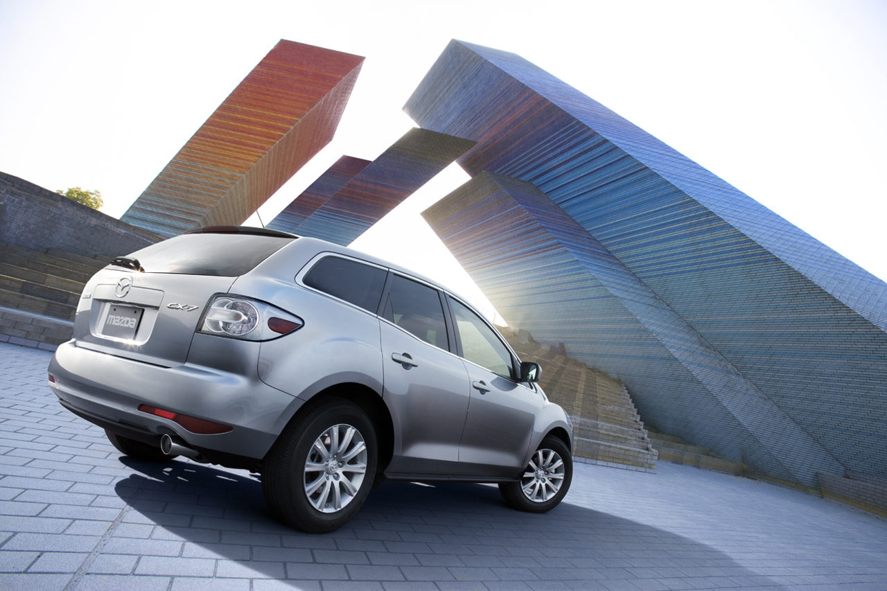 2010 mazda cx-7 debuts in canada - autoevolution