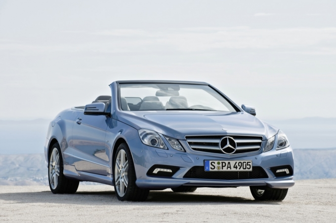 2010 Mercedes Benz E Klasse Cabrio Price List Released Autoevolution