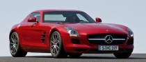 2010 Mercedes Benz SLS AMG Photos Leaked