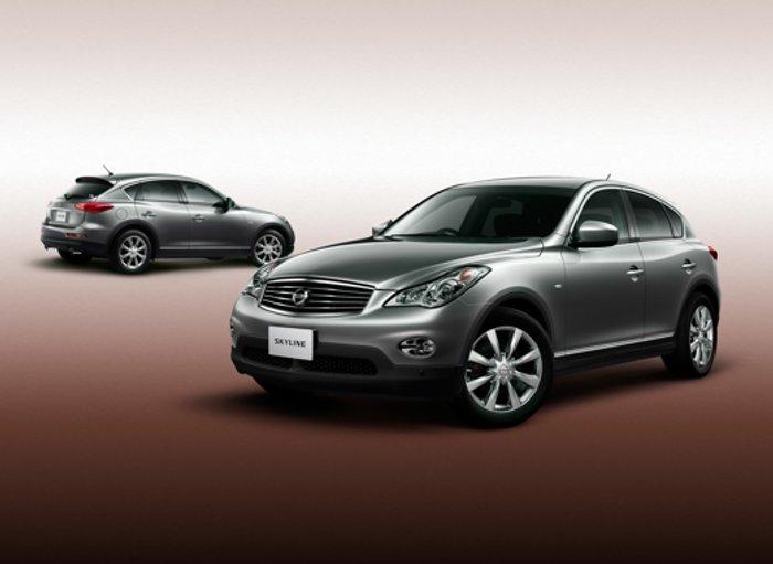 2010 Nissan Skyline Crossover Arrives This Summer Autoevolution