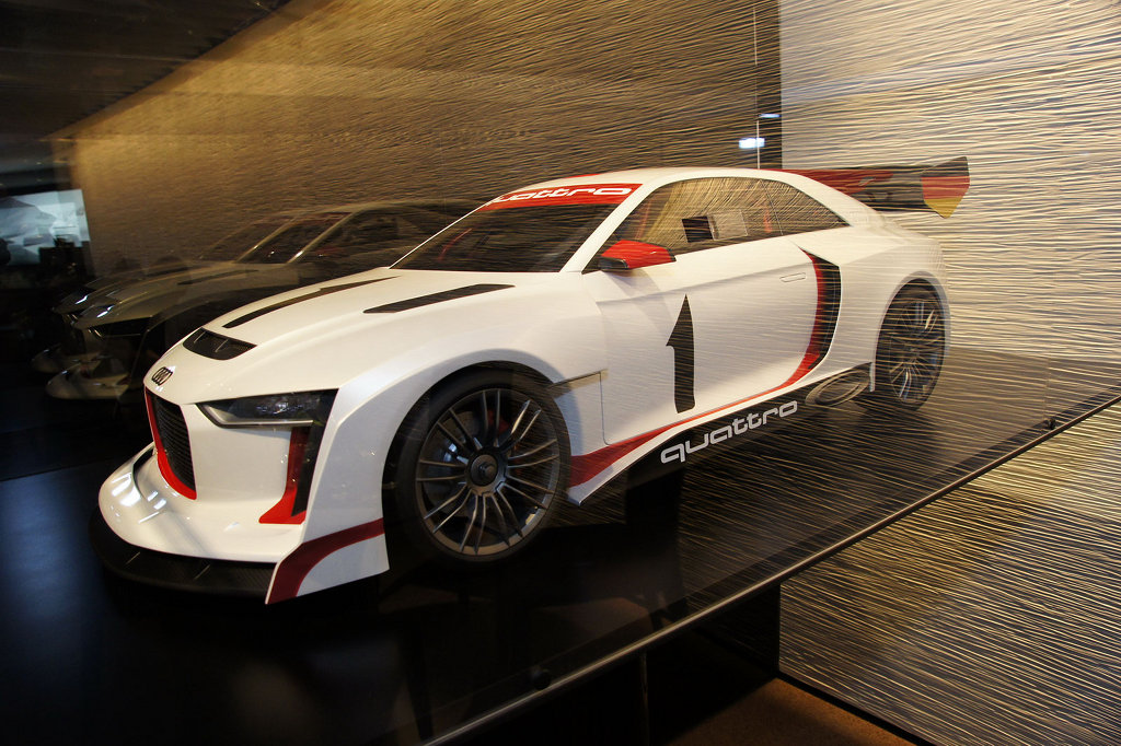 2010 Paris Auto Show Audi Quattro Rally Concept Autoevolution