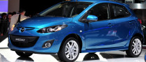 2010 Paris Auto Show: Mazda2 Facelift [Live Photos]