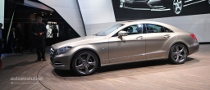 2010 Paris Auto Show: Mercedes-Benz CLS [Live Photos]