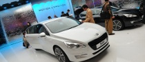 2010 Paris Auto Show: Peugeot 508 [Live Photos]