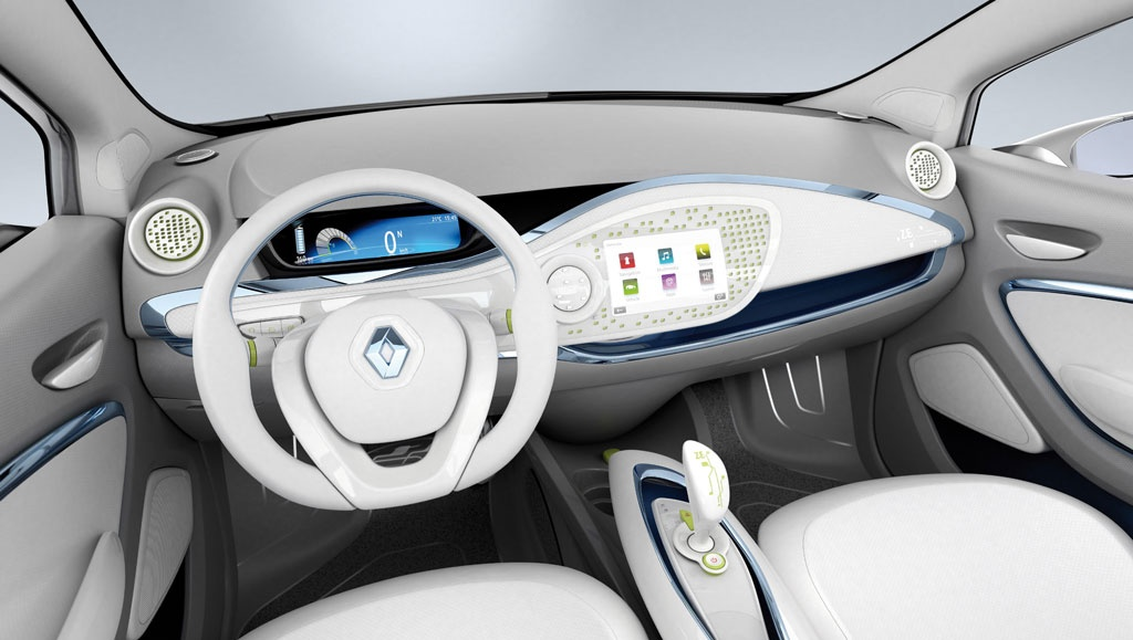 2010 paris auto show renault zoe preview live photos autoevolution. Black Bedroom Furniture Sets. Home Design Ideas