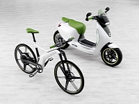 smart ebike and escooter photo